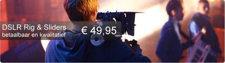 DSLR Rigs en Sliders