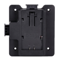 MustHD Panasonic D28S battery plate